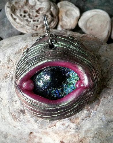 whale eye pendant