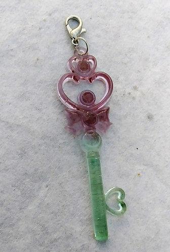 Seafoam and purple key