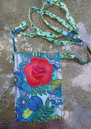 Wild rose purse