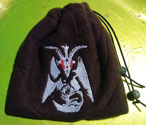 Dark Baphomet drawstring bag