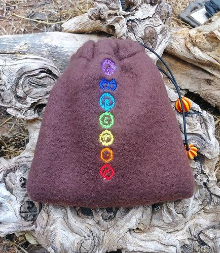 Little fleece chakra bag
