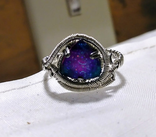 Size 7 glow in the dark ring