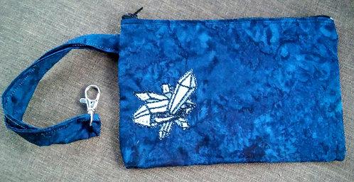 Crystal clip bag