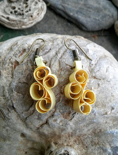 Swirly wirly earrings