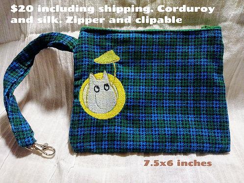 Totoro clutch bag