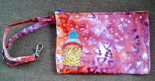 Pretty kitty clip bag
