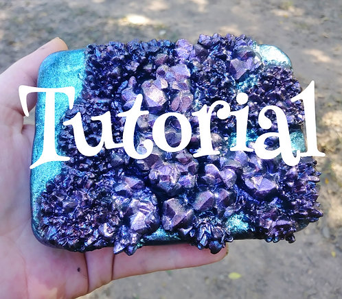 Mock crystal clay tutorial