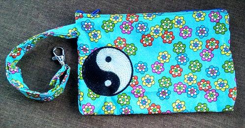 Ying yang clip bag