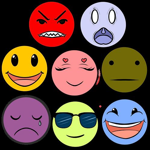 Tiffany's emotion icon pack