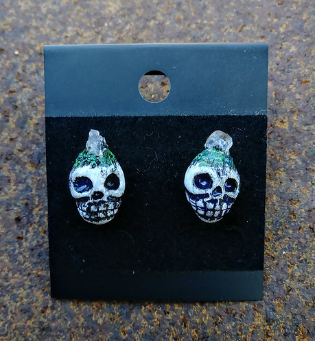 Skull earrings 3
