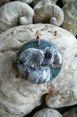 Elephant pendant #2