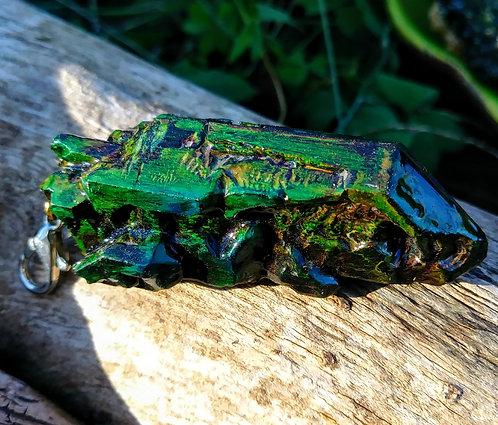 Color changing Russian quartz replica
