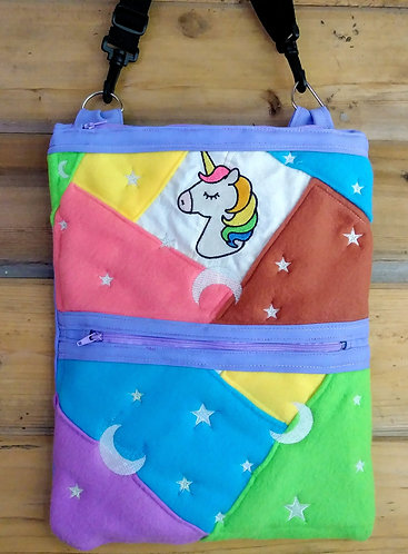 Glow in the dark unicorn bag