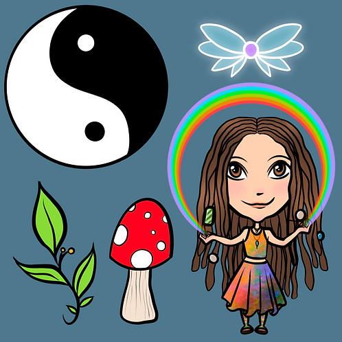 Julie's custom digital sticker pack