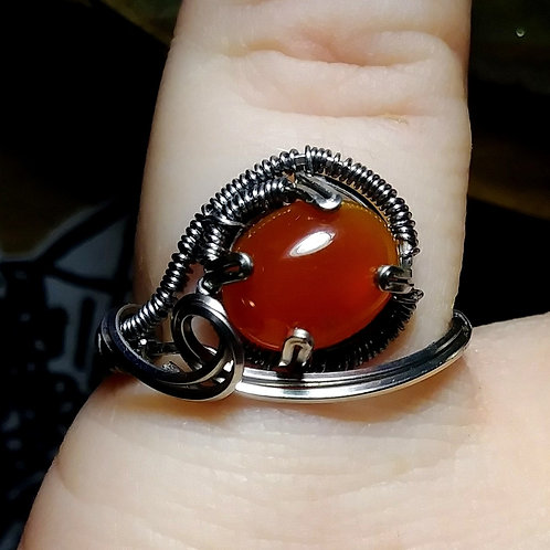 Carnelion ring size 7
