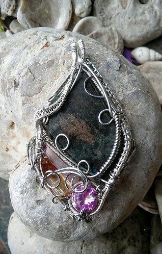 Opal wire wrap