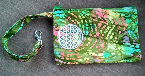 Glow in the dark clip bag