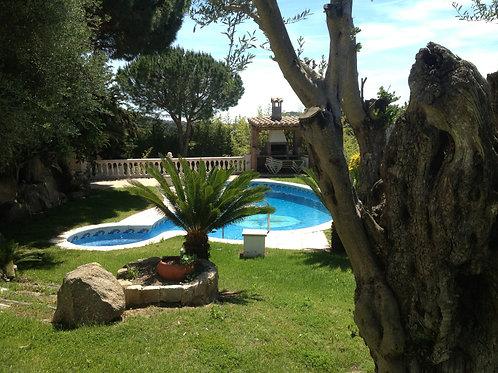 Casa independiente con piscina en Santa Cristina d'Aro