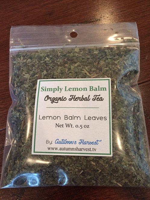 Simply Lemon Balm Organic Loose Herb
