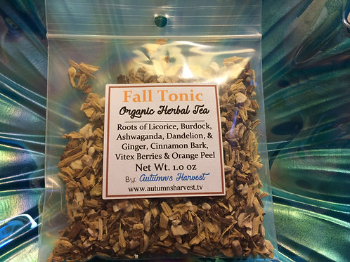 Liver Love - Organic Loose Roots, Bark, Berries (Formerly Fall Tonic)