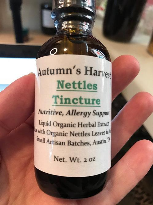 Nettles Leaf Tincture - 2 oz Vodka Infusion