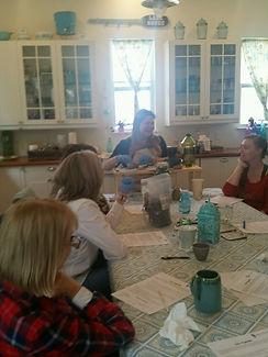 Autumn Schulze Herbalist Health Coach Austin DIY Salve Class in Autumn's Home