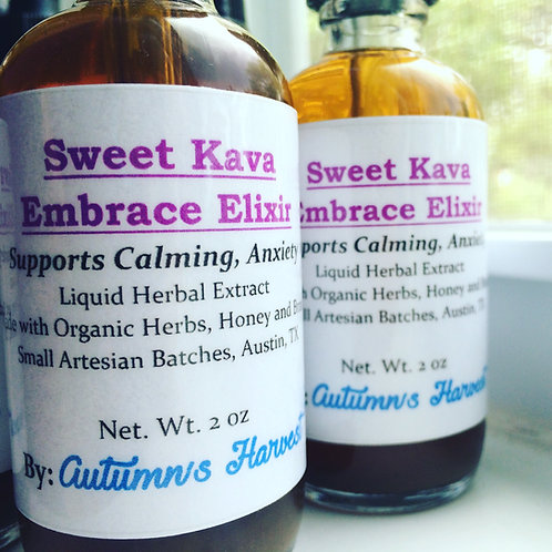 Sweet Kava Embrace - Anxiety Support Potion