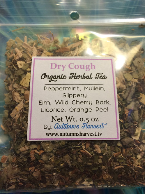 Dry Cough Support Blend Organic Loose Herbal Tea