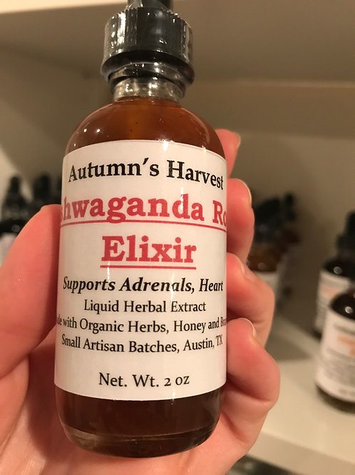 Ashwaganda Rose Elixir Tincture