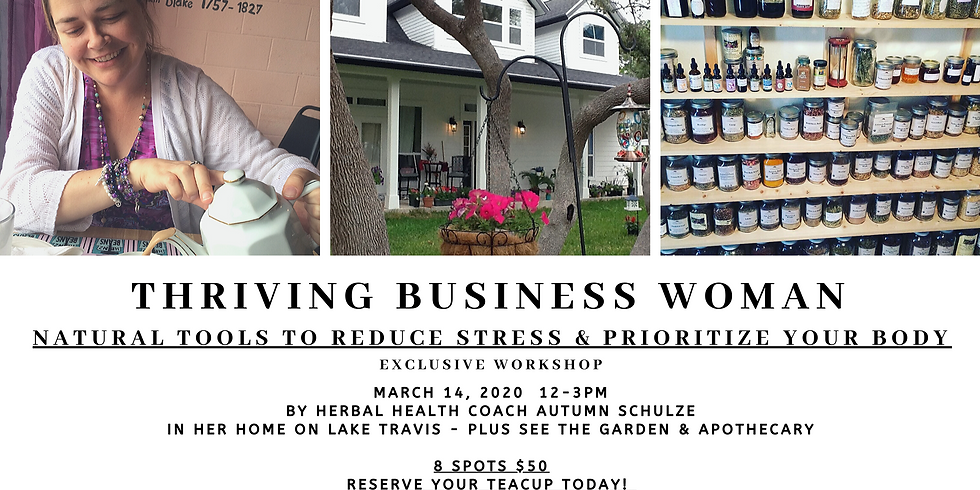 The Thriving Business Woman - Stress Workshop