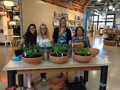 Autumn Schulze Herbalist Health Coach Growing a Texas Tea Garden at TreeHouse Austin