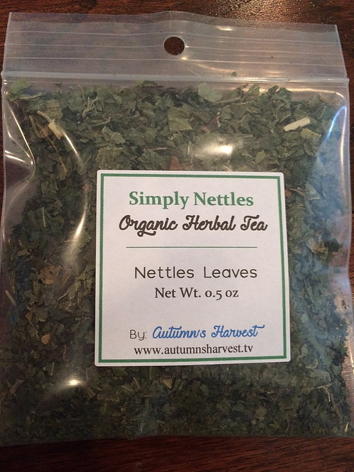 Simply Nettles Organic Loose Herb