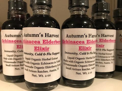 Echinacea Elderberry Elixir Tincture