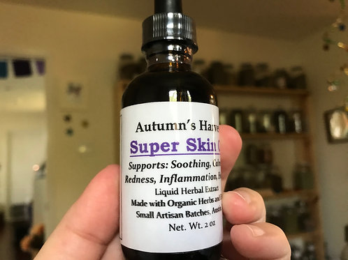 Super Skin Oil - 8 Herbs Infused