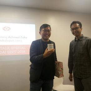 Todai Talk Bersama CEO Bukalapak Achmad Zaky