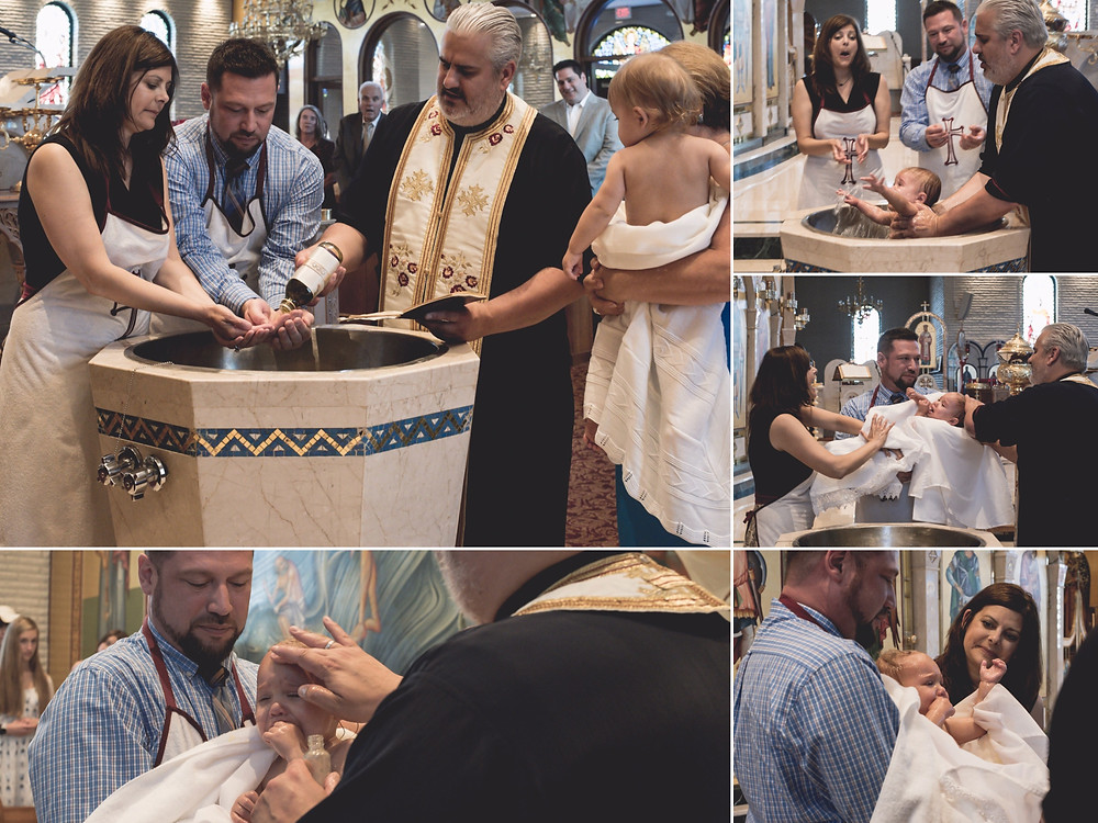 Greek Baptism Documented in Elmhurst, IL