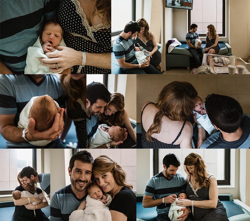 Fresh 48 Newborn Session Chicago, IL