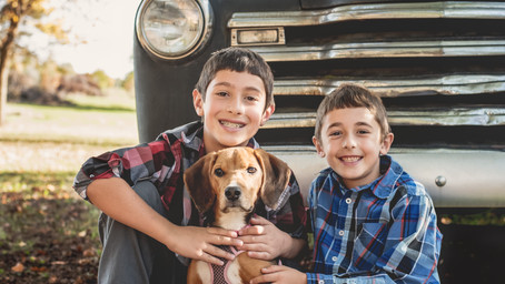 The Galante Boys & The Vintage Truck