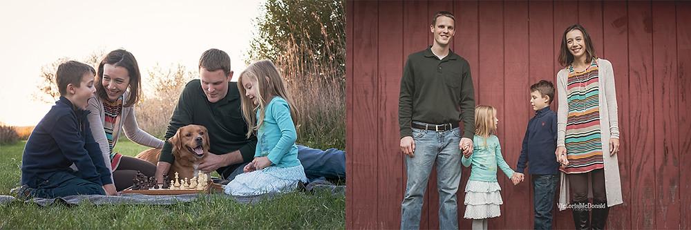 Fall Family Lifestyle Portraits