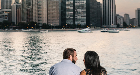 Chicago Engagement | Brian & Diana at Olive Park