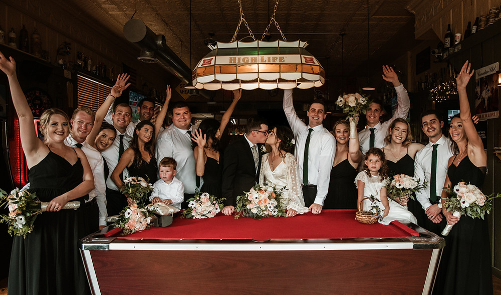 WEdding party Photos in Woodstock Il