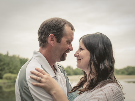 Congratulations Ashley & Rob, A Woodstock Engagement Session