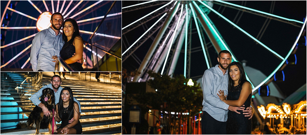 Navy Pier Engagement Session | Brian & Diana