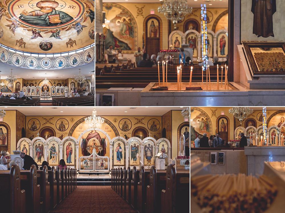 Church Detailed for Greek Baptism Documented in Elmhurst, IL