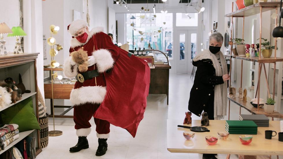 #GiftLocal Santa