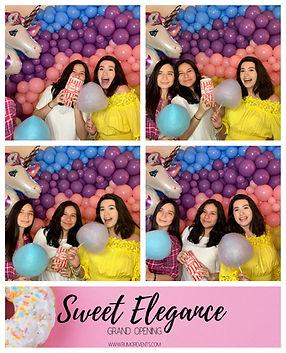 Sweet elegance grand opening photobooth_