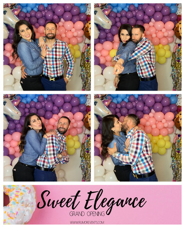 Sweet Elegance Grand opening Rumor Photobooth