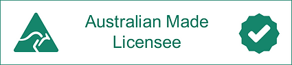 Australian Made Licensee - Seal of appro
