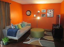 A client's room after makeover