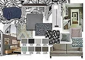 Photo of a Interior Design Board